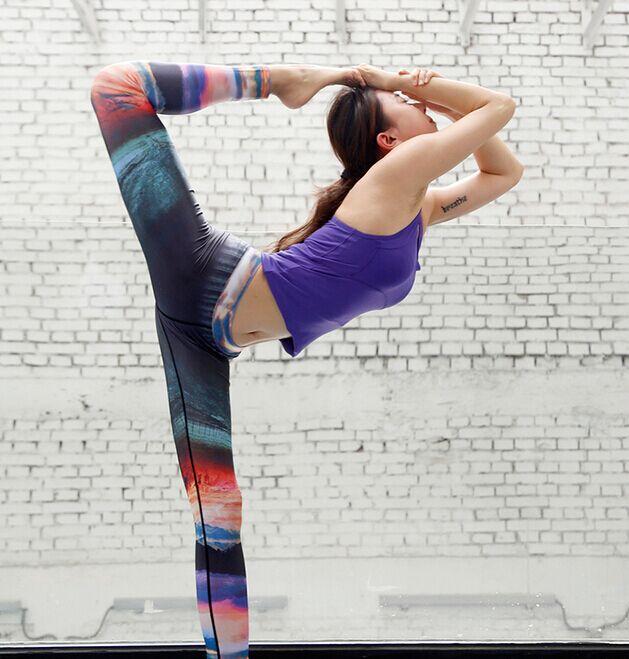 瑜伽美女老师7