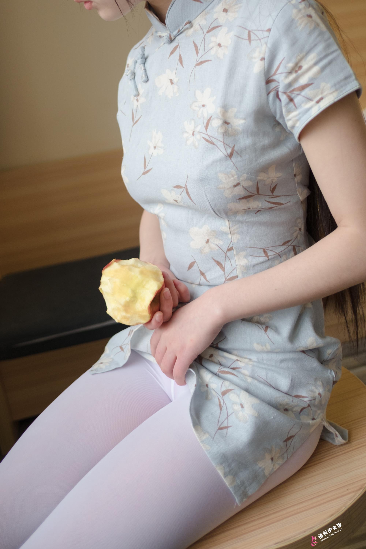 西尔酱兰草旗袍b