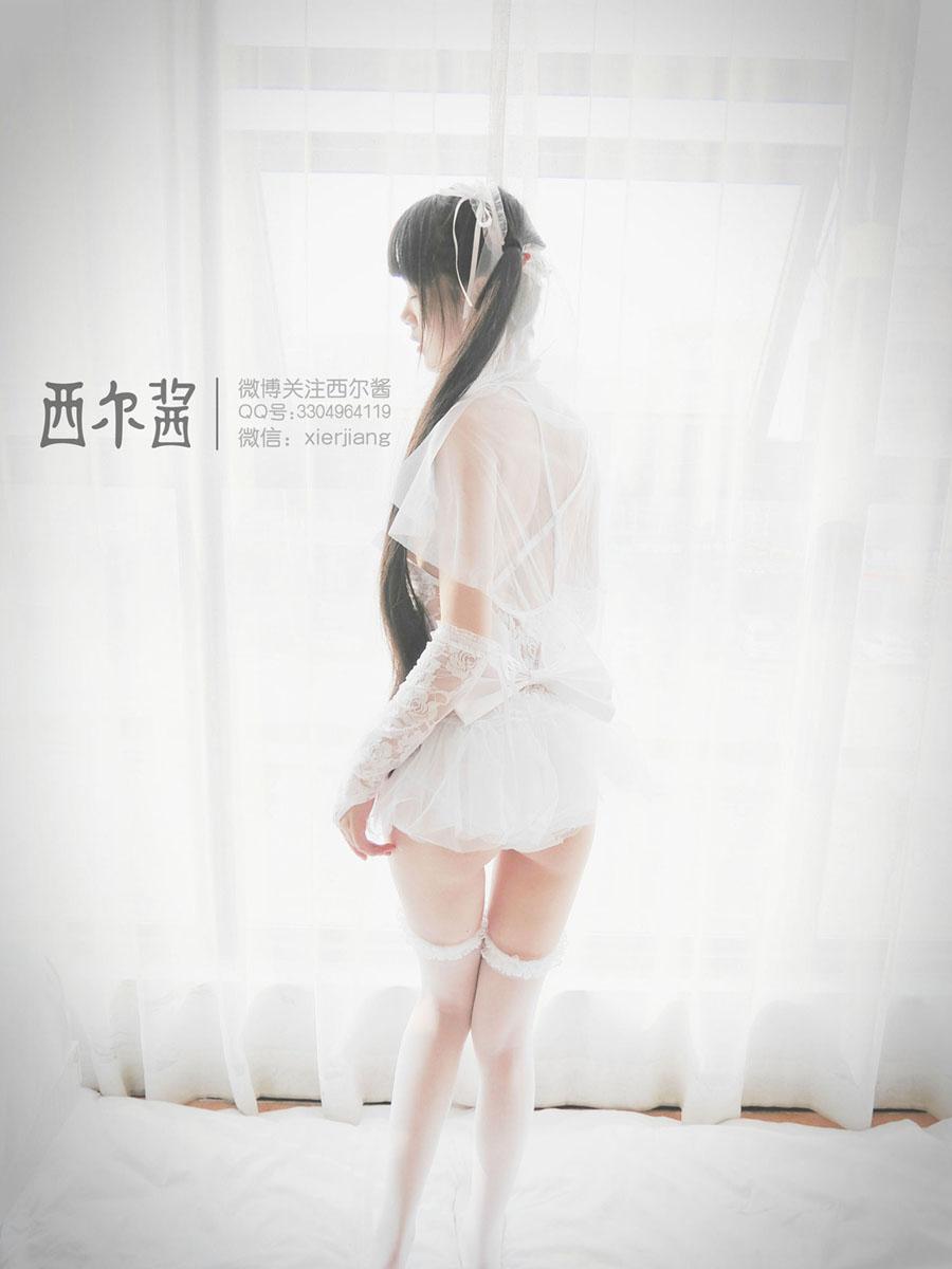 西尔酱 -纯白花嫁96P私房写真
