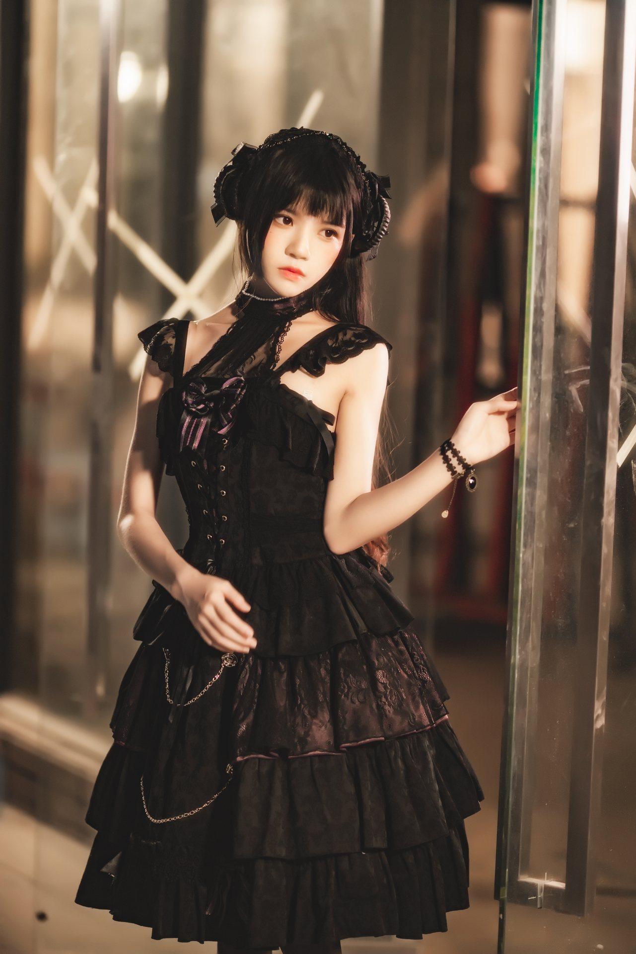 高颜值coser@桜桃喵 – 少女写真×4