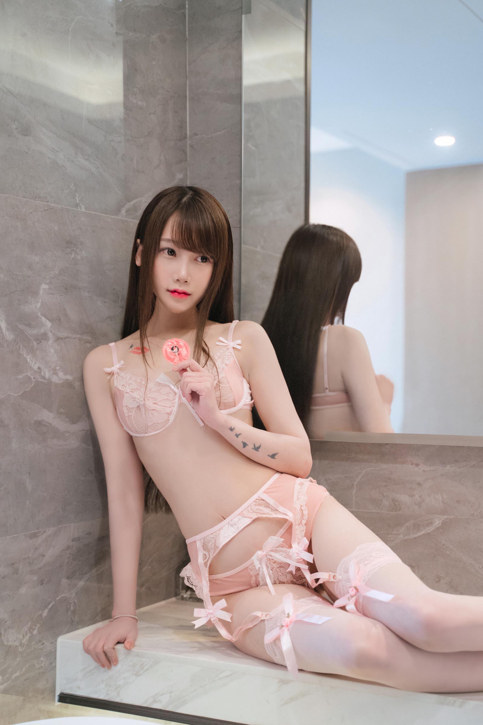 COS少女星野咪兔 - just stay 浴缸