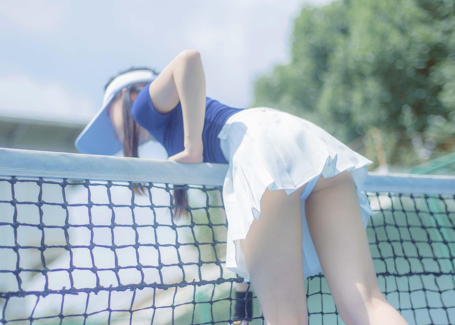 正妹小恩 – 网球写真 [32P374MB]