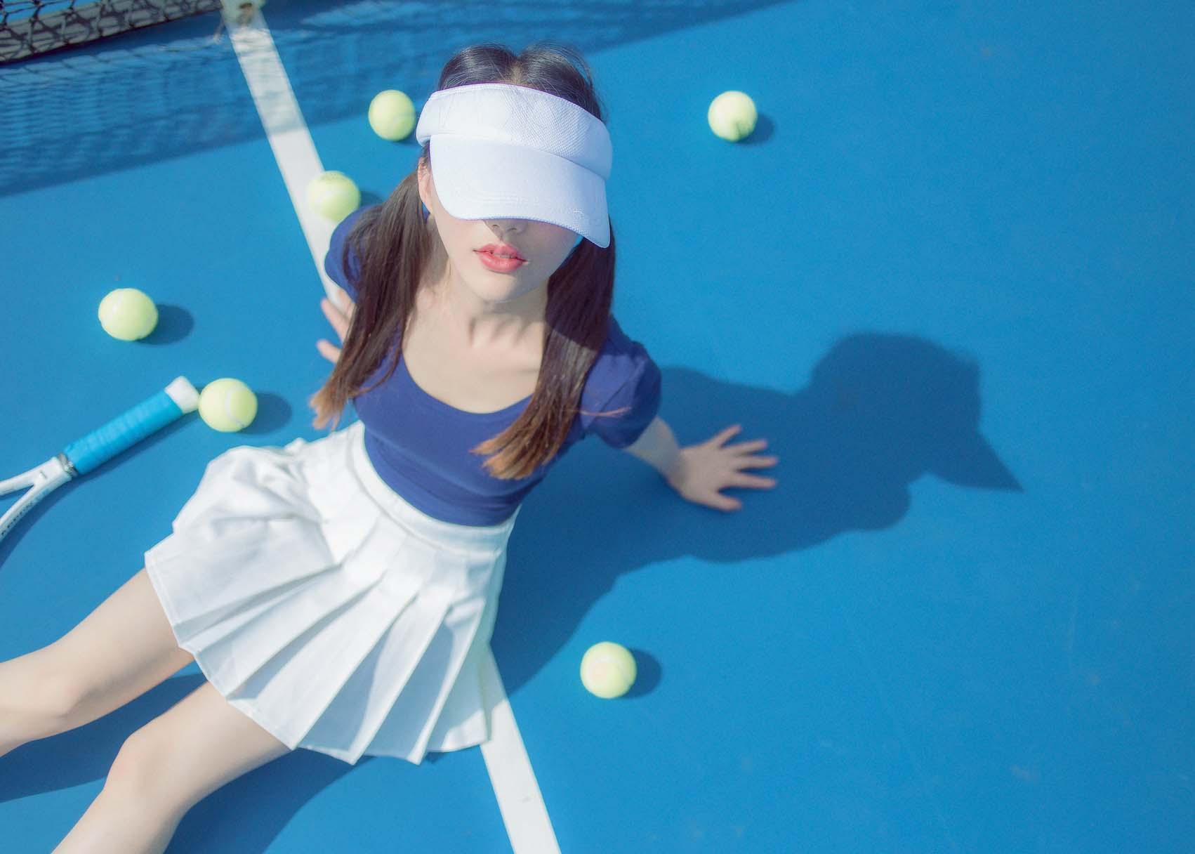 正妹小恩 - 网球写真 [32P374MB]