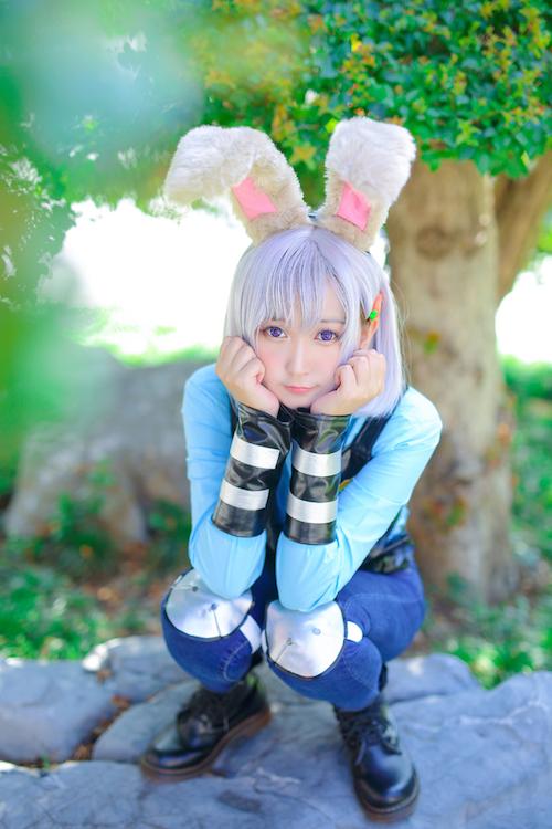 清纯萝莉cosplay3