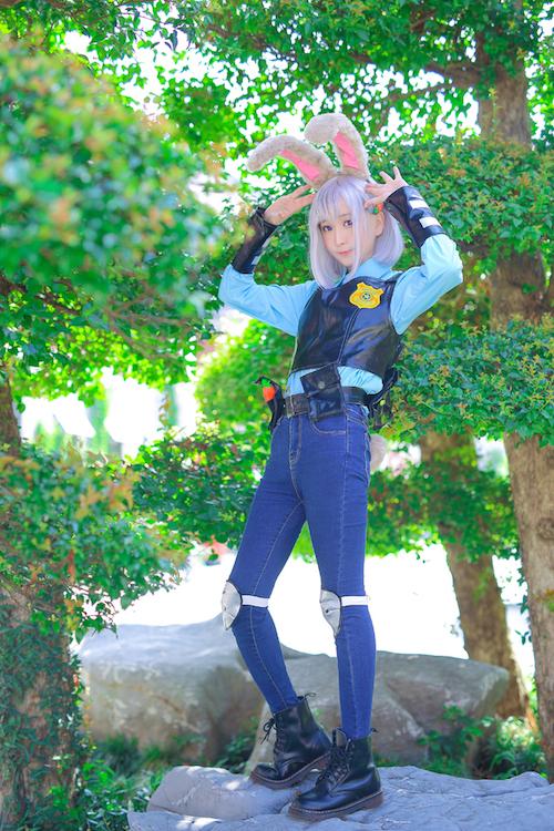 清纯萝莉cosplay5